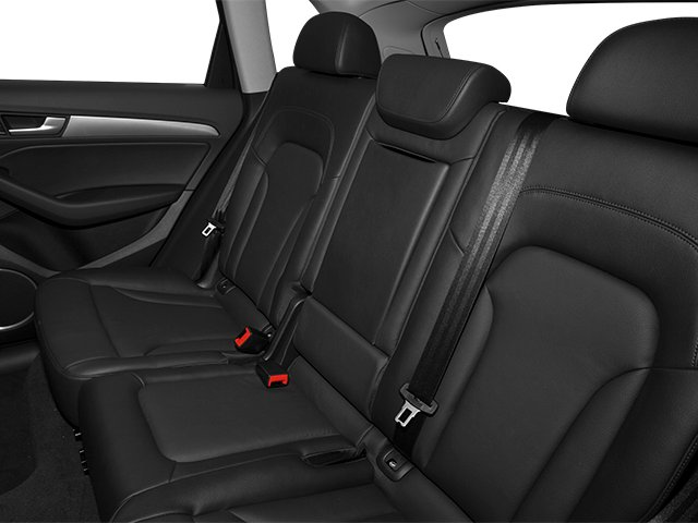 2013 Audi Q5 Prices and Values Utility 4D 2.0T Premium AWD backseat interior