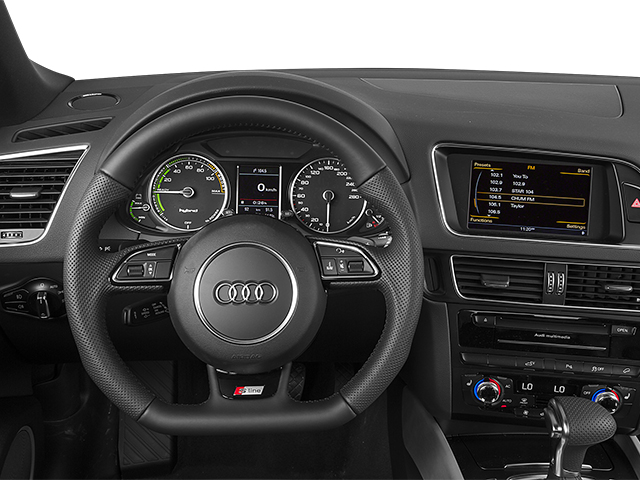 2013 Audi Q5 Prices and Values Utility 4D 2.0T Prestige AWD Hybrid driver's dashboard
