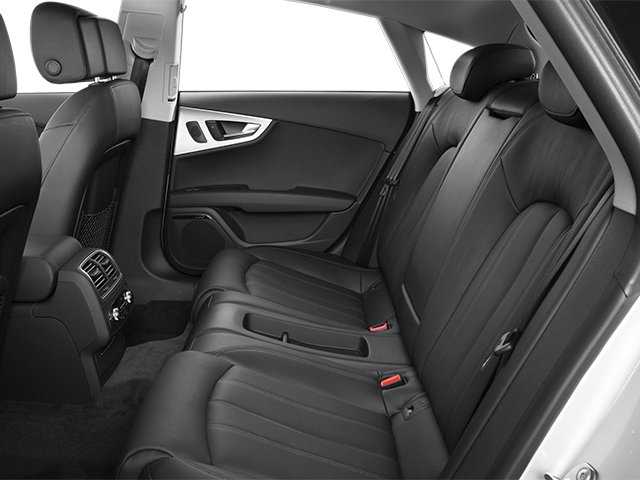 2013 Audi A7 Prices and Values Sedan 4D 3.0T Prestige AWD backseat interior