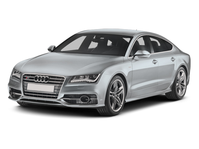 2013 Audi S7 Prices and Values Sedan 4D S7 Prestige AWD V8 side front view