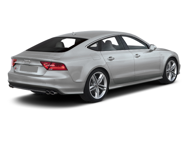 2013 Audi S7 Prices and Values Sedan 4D S7 Prestige AWD V8 side rear view
