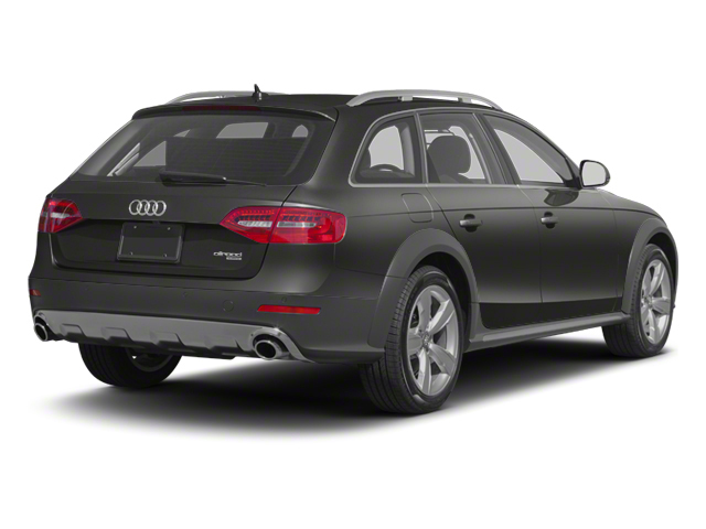 2013 Audi allroad Prices and Values Wagon 4D Premium AWD side rear view