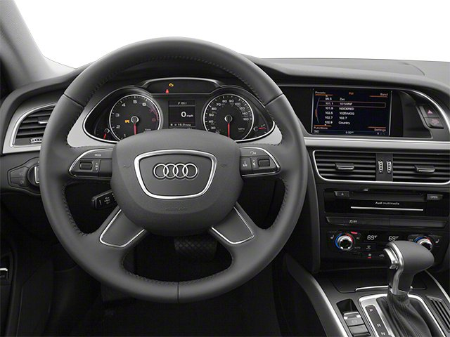 2013 Audi allroad Prices and Values Wagon 4D Prestige AWD driver's dashboard