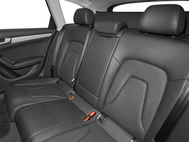2013 Audi allroad Prices and Values Wagon 4D Premium AWD backseat interior