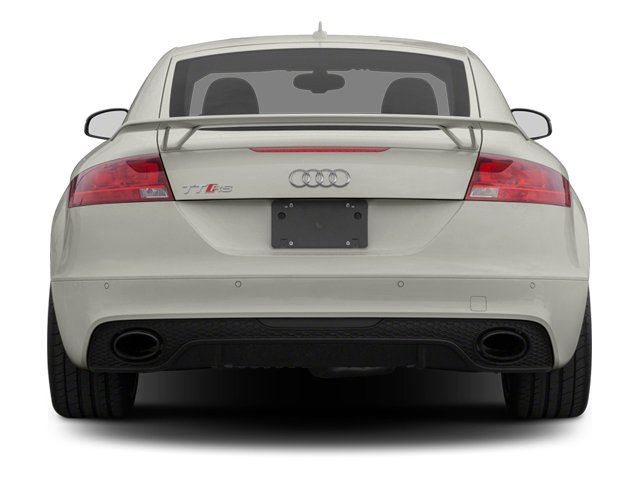 2013 Audi TT RS Pictures TT RS Coupe 2D RS AWD photos rear view