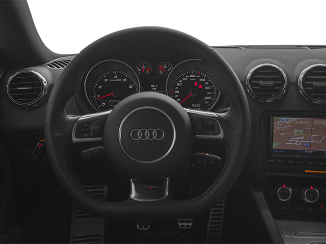 2013 Audi TT RS Pictures TT RS Coupe 2D RS AWD photos driver's dashboard