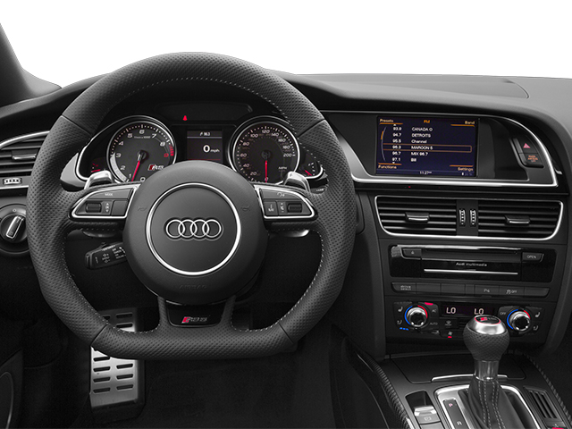 2013 Audi RS 5 Prices and Values Coupe 2D RS5 AWD V8 driver's dashboard