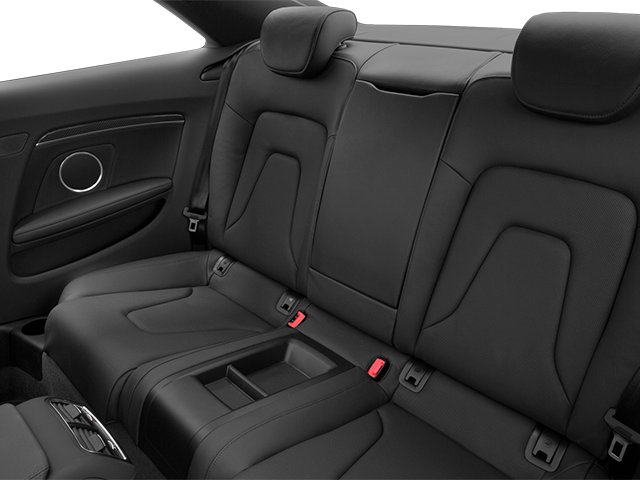 2013 Audi RS 5 Prices and Values Coupe 2D RS5 AWD V8 backseat interior
