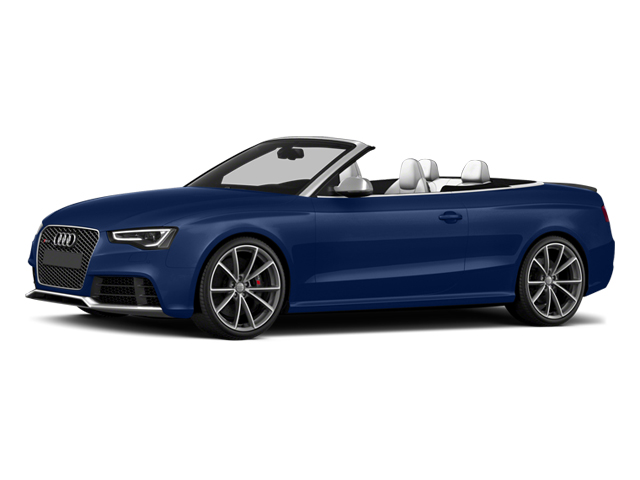 2013 Audi RS 5 Pictures RS 5 Conv 2D RS5 AWD V8 photos side front view