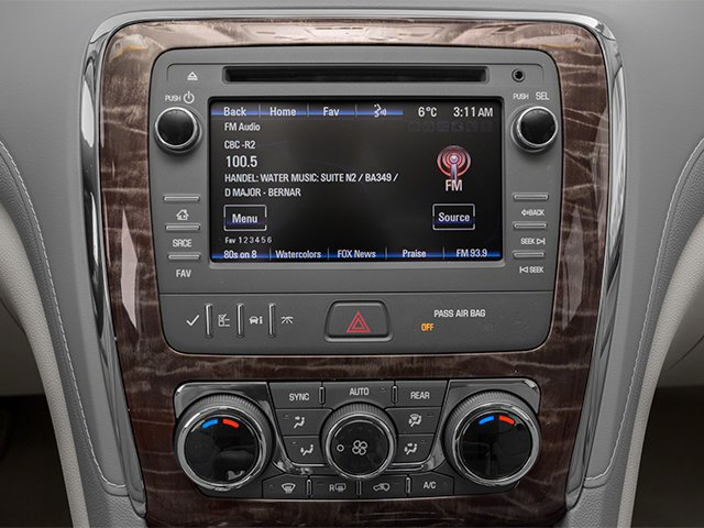 2013 Buick Enclave Prices and Values Utility 4D Convenience 2WD V6 stereo system
