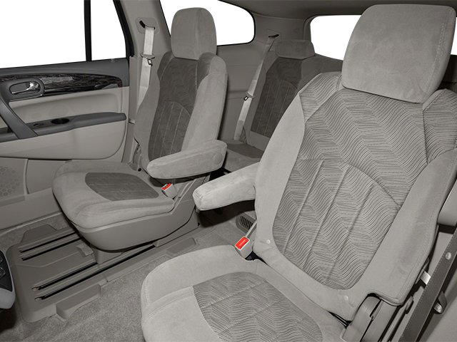 2013 Buick Enclave Prices and Values Utility 4D Convenience 2WD V6 backseat interior