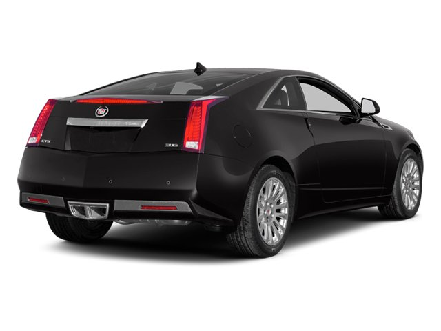 2013 Cadillac CTS Coupe Prices and Values Coupe 2D Premium AWD side rear view