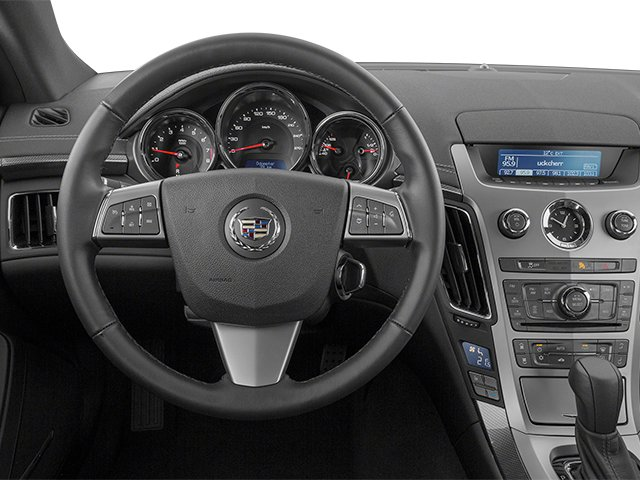 2013 Cadillac CTS Coupe Prices and Values Coupe 2D Premium AWD driver's dashboard