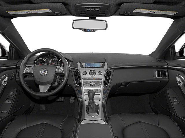 2013 Cadillac CTS Coupe Prices and Values Coupe 2D Premium AWD full dashboard
