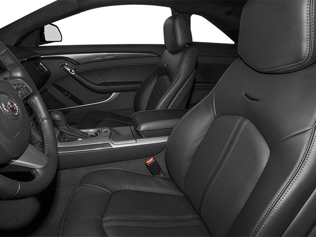 2013 Cadillac CTS Coupe Prices and Values Coupe 2D Premium AWD front seat interior
