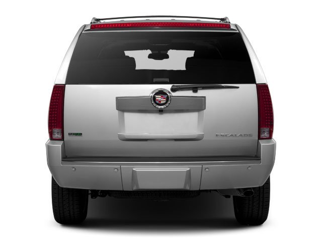 2013 Cadillac Escalade Prices and Values Utility 4D AWD rear view