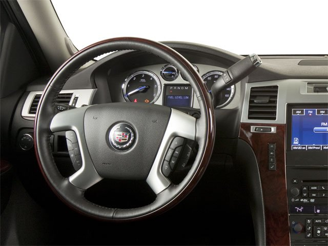 2013 Cadillac Escalade Prices and Values Utility 4D AWD driver's dashboard