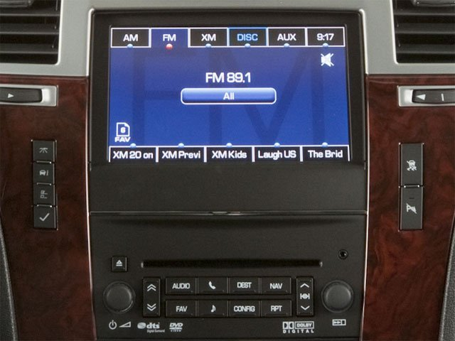 2013 Cadillac Escalade Prices and Values Utility 4D AWD stereo system