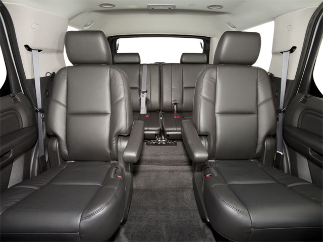 2013 Cadillac Escalade Prices and Values Utility 4D AWD backseat interior