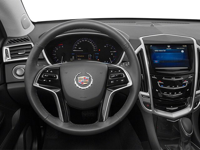 2013 Cadillac SRX Prices and Values Utility 4D Luxury 2WD V6 driver's dashboard