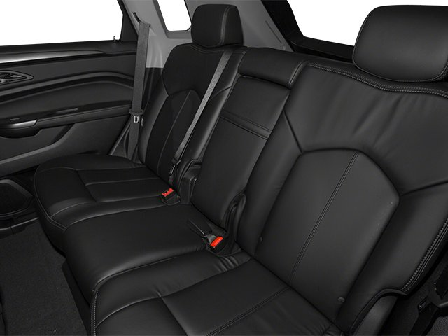 2013 Cadillac SRX Prices and Values Utility 4D Luxury 2WD V6 backseat interior