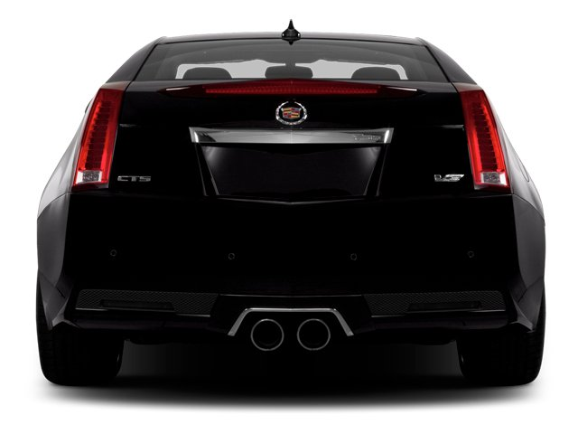 2013 Cadillac CTS-V Coupe Prices and Values Coupe 2D V-Series rear view