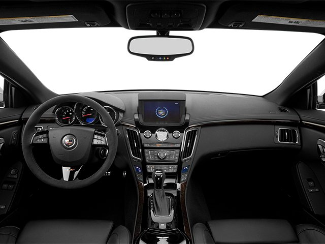 2013 Cadillac CTS-V Coupe Prices and Values Coupe 2D V-Series full dashboard