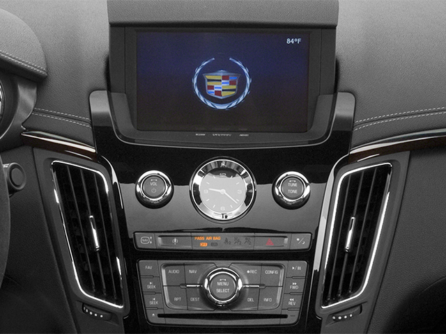 2013 Cadillac CTS-V Coupe Prices and Values Coupe 2D V-Series stereo system
