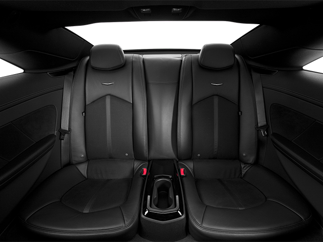 2013 Cadillac CTS-V Coupe Prices and Values Coupe 2D V-Series backseat interior
