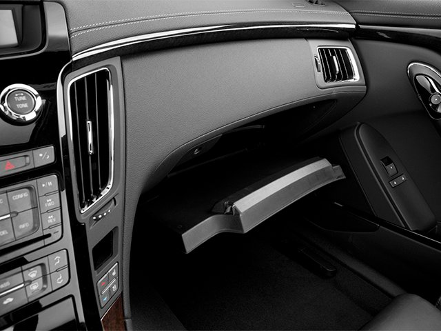 2013 Cadillac CTS-V Coupe Prices and Values Coupe 2D V-Series glove box