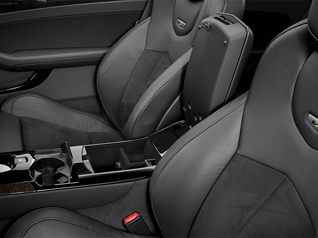 2013 Cadillac CTS-V Coupe Prices and Values Coupe 2D V-Series center storage console