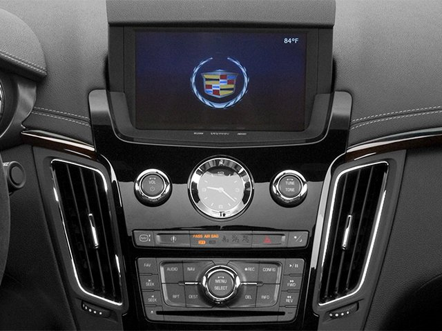 2013 Cadillac CTS-V Coupe Prices and Values Coupe 2D V-Series navigation system