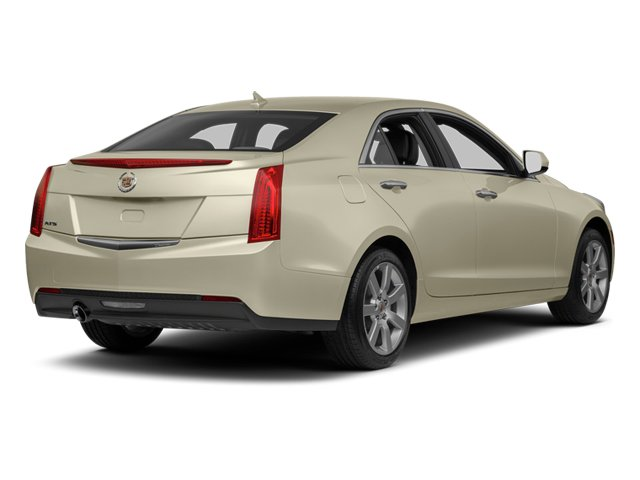 2013 Cadillac ATS Prices and Values Sedan 4D Performance Turbo AWD side rear view