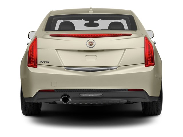 2013 Cadillac ATS Prices and Values Sedan 4D Performance Turbo AWD rear view
