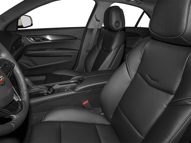 2013 Cadillac ATS Prices and Values Sedan 4D Performance Turbo AWD front seat interior