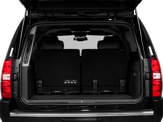 2013 Chevrolet Suburban Prices and Values Utility C2500 Fleet 2WD V8 open trunk
