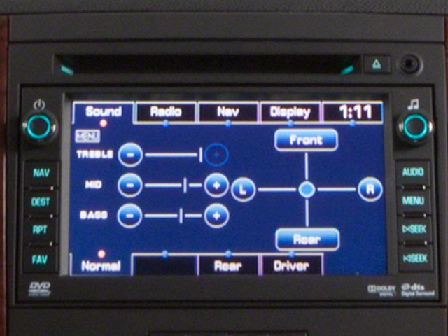 2013 Chevrolet Suburban Prices and Values Utility C2500 Fleet 2WD V8 navigation system
