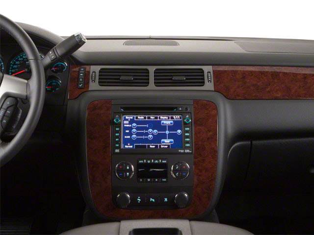2013 Chevrolet Suburban Prices and Values Utility C2500 Fleet 2WD V8 center dashboard