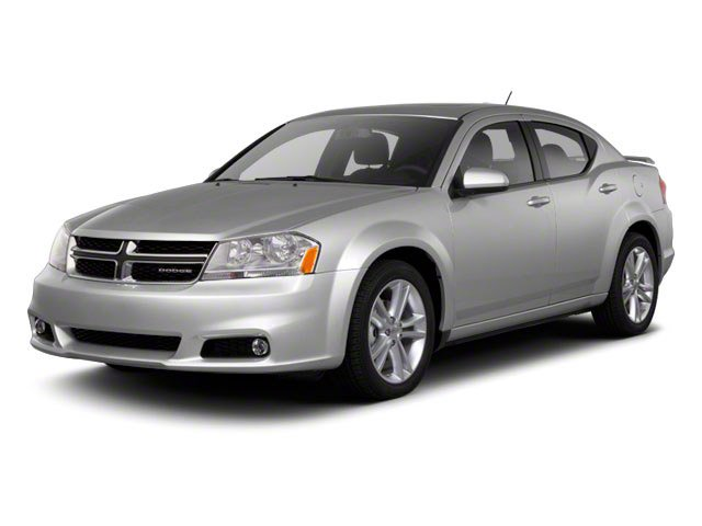 2013 Dodge Avenger Prices and Values Sedan 4D SXT I4 side front view