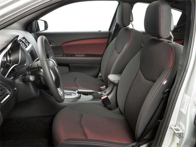 2013 Dodge Avenger Prices and Values Sedan 4D SXT I4 front seat interior
