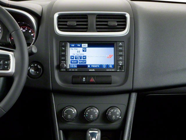 2013 Dodge Avenger Prices and Values Sedan 4D SE I4 center console