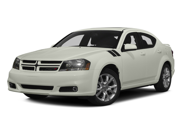 2013 Dodge Avenger Prices and Values Sedan 4D R/T V6 side front view