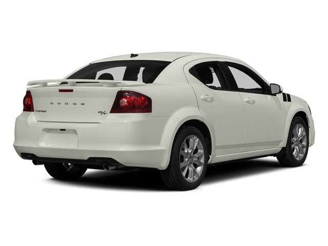 2013 Dodge Avenger Prices and Values Sedan 4D R/T V6 side rear view