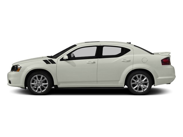 2013 Dodge Avenger Prices and Values Sedan 4D R/T V6 side view