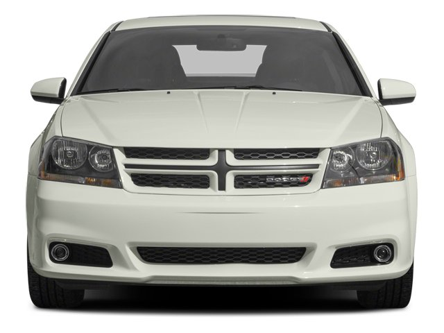 2013 Dodge Avenger Prices and Values Sedan 4D R/T V6 front view