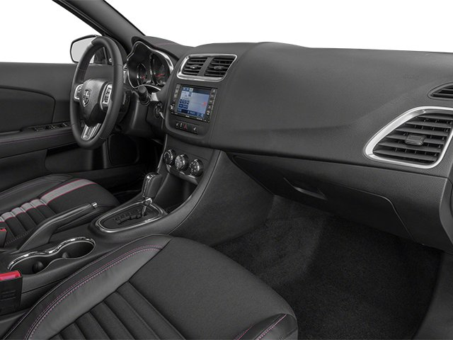 2013 Dodge Avenger Prices and Values Sedan 4D R/T V6 passenger's dashboard