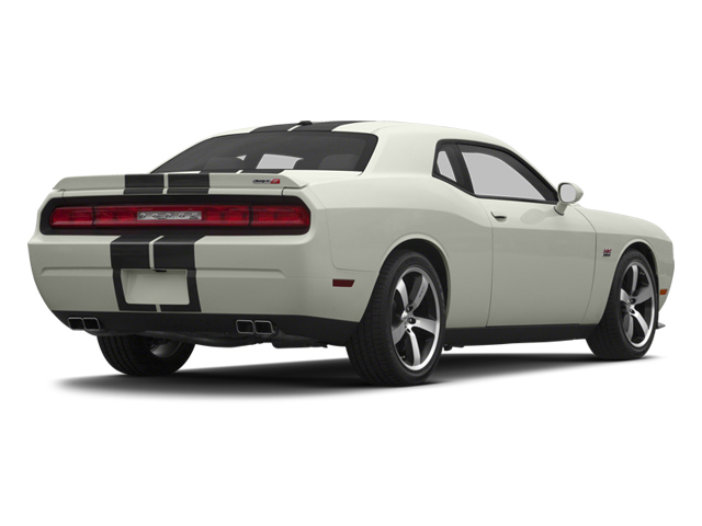 2013 Dodge Challenger Pictures Challenger Coupe 2D SRT-8 V8 photos side rear view