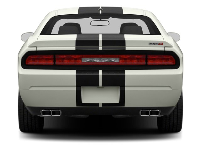 2013 Dodge Challenger Prices and Values Coupe 2D SRT-8 V8 rear view