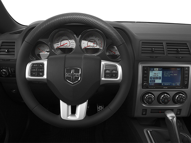 2013 Dodge Challenger Prices and Values Coupe 2D SRT-8 V8 driver's dashboard