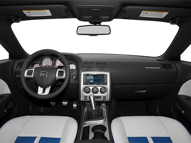 2013 Dodge Challenger Prices and Values Coupe 2D SRT-8 V8 full dashboard